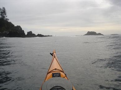 Cape Cook and Solander Island, Brooks Peninsula
