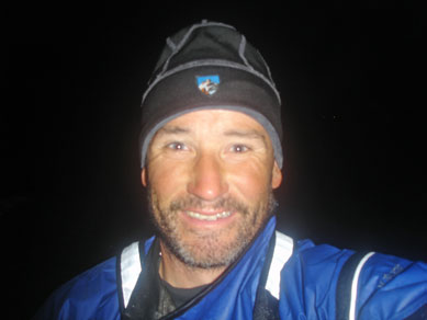 Finish in the dark at Port Hardy!